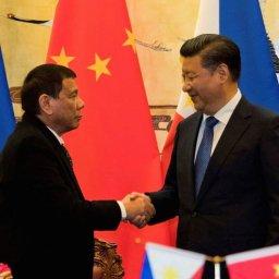 ドゥテルテ比大統領「中国を止めることはできない。私にどうしろというのか」…南シナ海で中国が構造物建設の報道に対し!