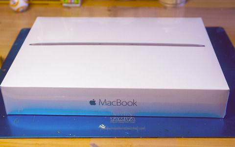 【画像】12インチのMacBook買ったったwwwwww