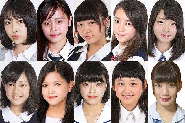 【朗報】日本一かわいい女子中学生「JCミスコン」のファイナリスト10人が発表される