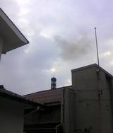 西條鶴酒造の煙突