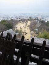 松山城天守閣から見た景色