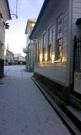 朝の酒蔵通り