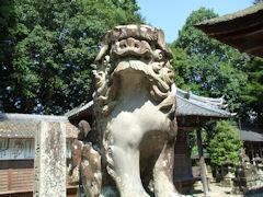 八幡神社狛犬