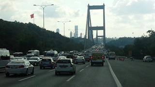 イスタンブールの渋滞