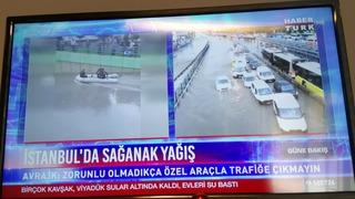 イスタンブールの洪水