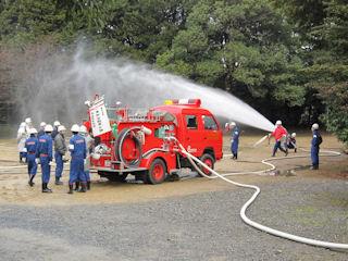 文化財防火訓練