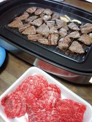 黒田庄牛の焼き肉
