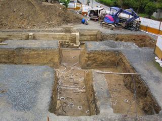 遺跡発掘調査