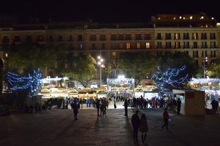 バルセロナ大聖堂前