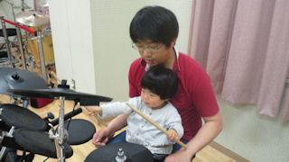 ドラムの練習