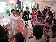 藤井君結婚式