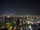 梅田スカイビルからの大阪の夜景