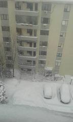 イスタンブールの大雪
