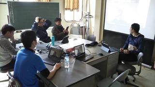 氷上情報教育研究会3月の例会
