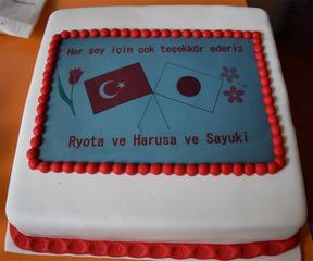 トルコと日本のケーキ
