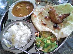 インド料理ザイカCランチ
