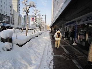 富山市の歩道
