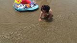 はじめての海水浴