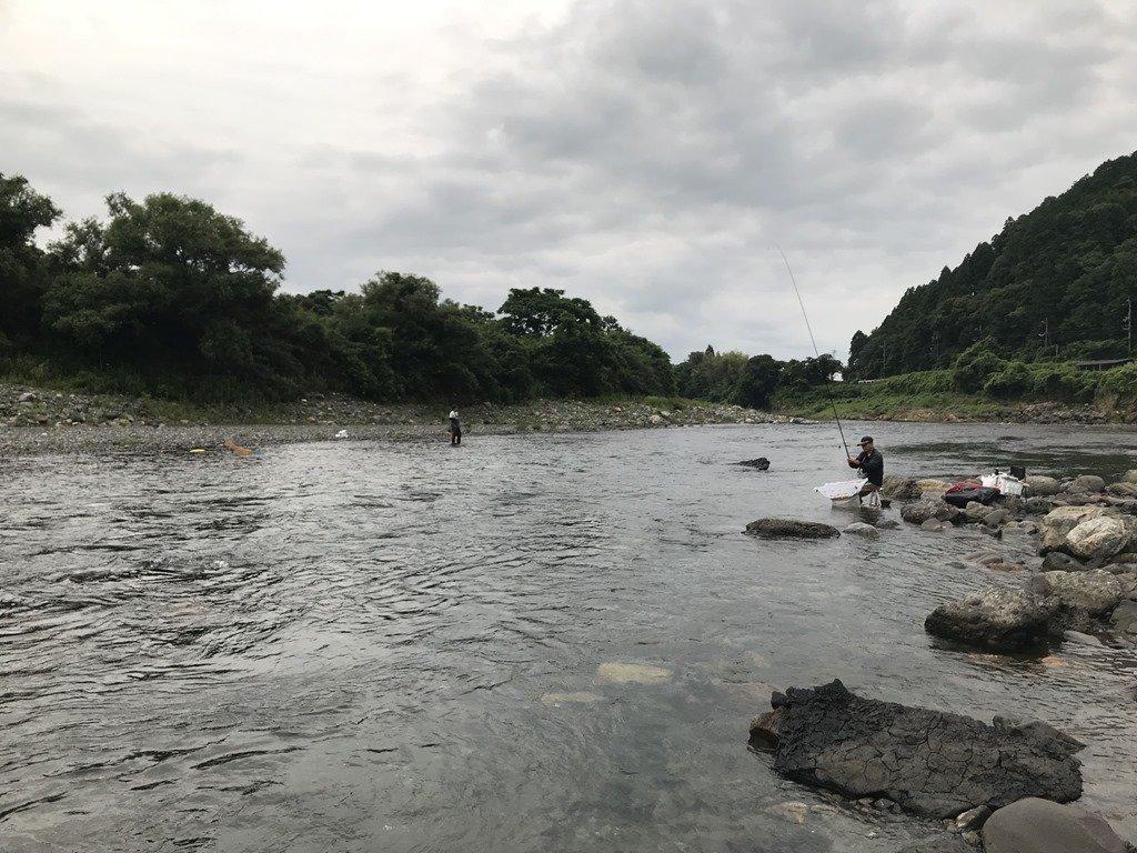 琵琶湖 小 鮎 釣り 2019