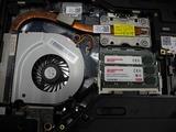 NEC Lavie LL750E メモリー増設作業 (4)