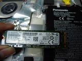 Letsnote cf-xz6bdbqr SSD換装 (2)