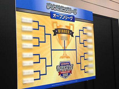 ポケモンカードゲーム チャンピオンズリーグ2017 大阪会場オープン本選トーナメント表