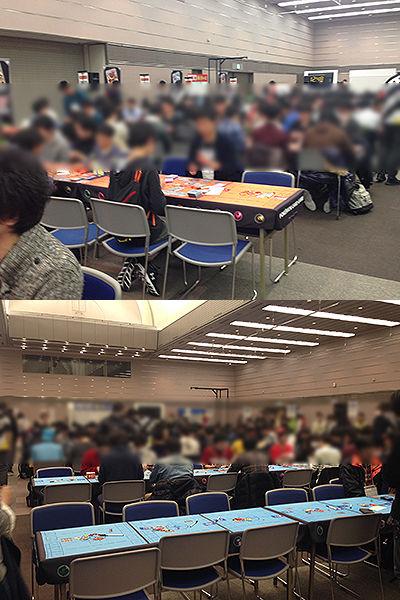 ポケモンカードゲーム チャンピオンズリーグ2017 大阪会場1日目の様子
