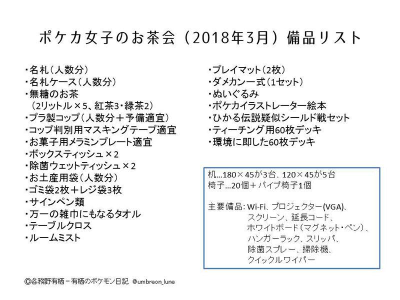 ポケカ公認自主イベント「トレーナーズアカデミー TOKYO」各務野有栖プレゼン資料内容4(2018年3月)