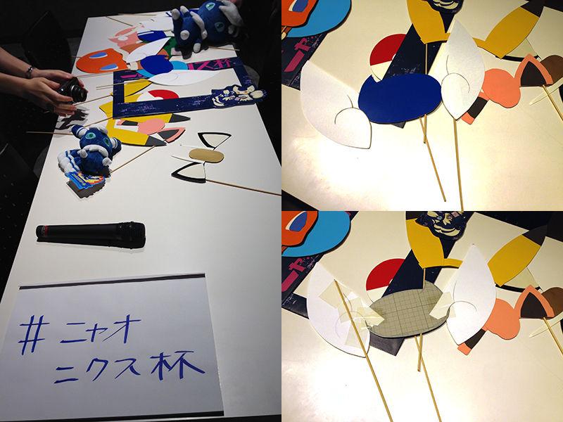ポケモンカード非公認ニャオニクス杯記念撮影コーナーの手作りフォトプロップス(2017年7月)