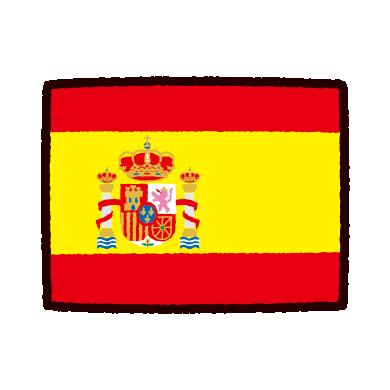 illustkun-01138-spanish-flag