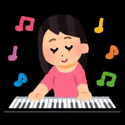 music_keyboard_woman