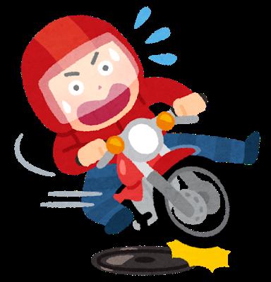 jiko_manhole_bike