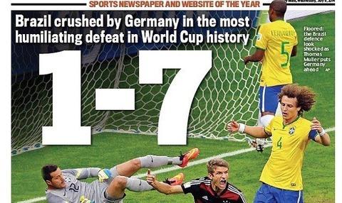 ブラジル ドイツ