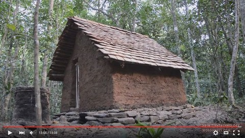 150914-Building-a-tiled-roof-hut