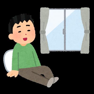 jitaku_taiki__relax_man