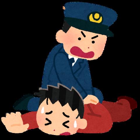 toriosae_taiho_police