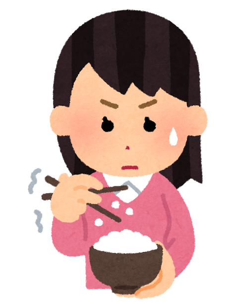 syokuji_hashi_heta_woman