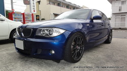 BMW E87 130i オーディオシステムインストール