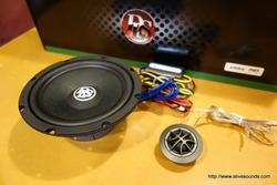 アテンザワゴン DLS M6.2スピーカー交換とスーパーリアデッドニング施工