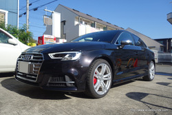 Audi S3 Sedan × Bang & Olfsen Sound System スーパーデッドニング・フロント&リア同時施工