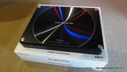 X-TRAILにTS-WH1000A(サブウーファー)を取付。5回目のシステムアップです。