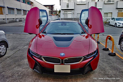 BMW i8 ご来店!!