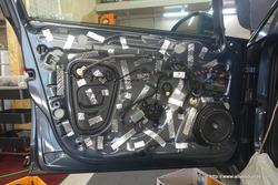 VW GOLF7.5 スーパーデッドニング・フロント&リア同時施工