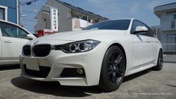 BMW F30 ActiveHybrid 3 | JBL BMWF30専用トレードインスピーカー取付。姫路市より
