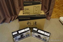 ソリオバンディットにKENWOOD 8インチナビMDV-M805L、その他諸々取付