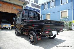 ハイゼットトラック・ジャンボ DLS RCS6.2スピーカー取付とアウターバッフル、Aピラー製作