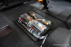 オデッセイ DLS RCS6.2iスピーカー取付完成、スーパーデッドニング最終工程