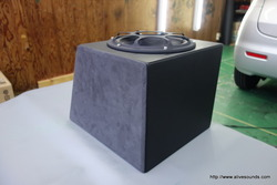 DIYのお客様のウーファーBOXを改造の巻