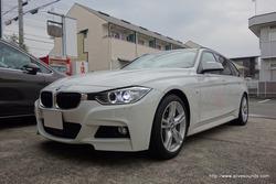 BMW F30に『スーパーデッドニングBMW仕様』施工です。