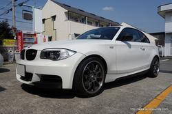 BMW 135iクーペ(E82) BMW専用JBLスピーカーセット取付